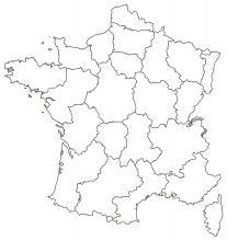 Carte de France de nos zones de livraison
